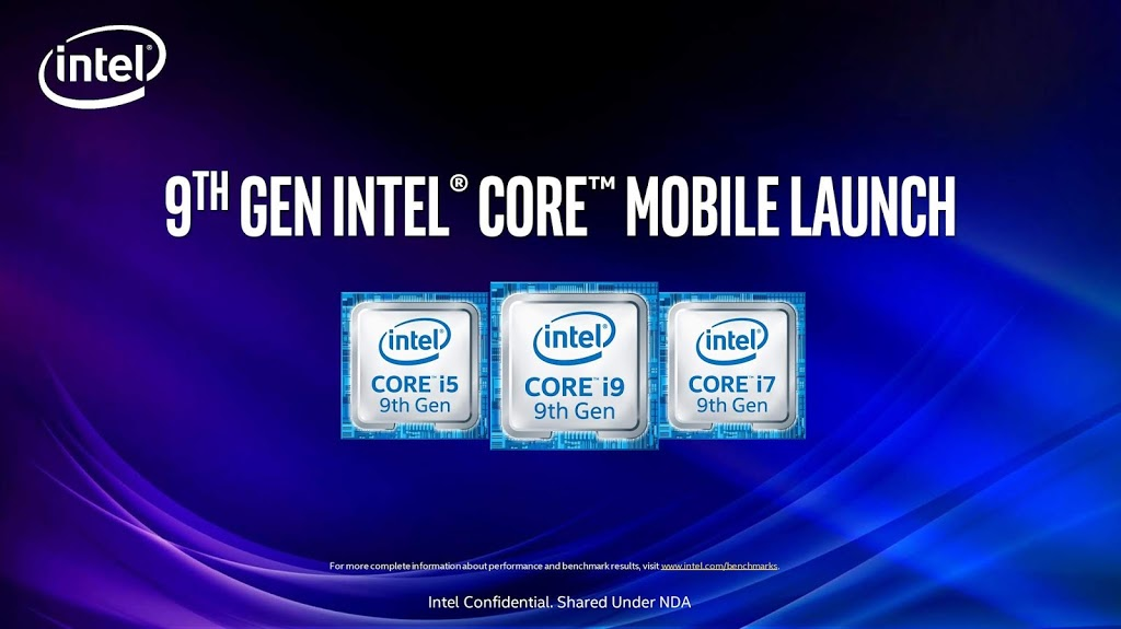 Intel's new 9th Gen laptop processors hit the 5GHz mark