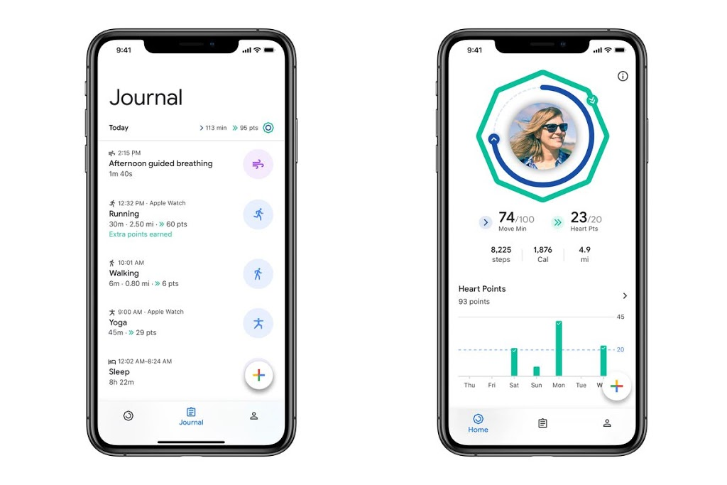 Google brings its redesigned fitness app to iOS