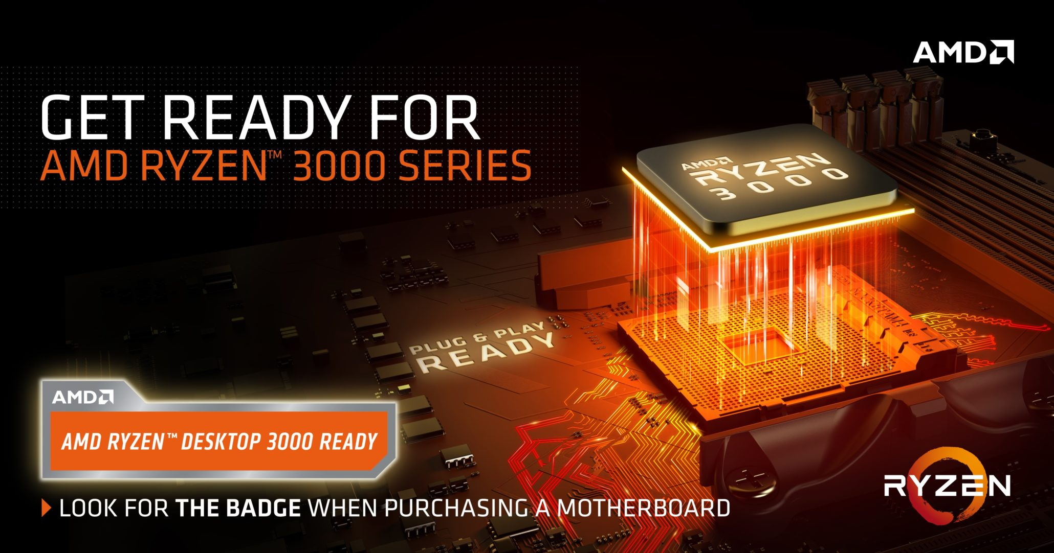 AMD has announced their next-generation 7nm based, Ryzen 3000 series CPUs at Computex 2019